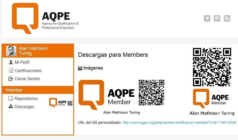 member descargas AQPE