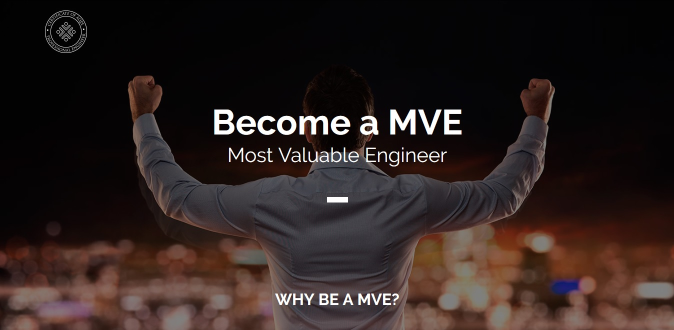 MVE Most Valuable Engineer ENG